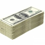 stack of money image