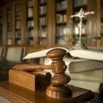 Judge's gavel, probate hearing