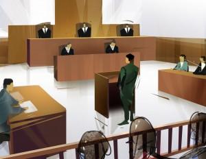 A court scene, lake county lawyers