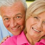 A smiling elder couple, probate living trust