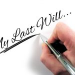 hand writing my last will, estate planning attorney