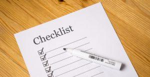 a checklist, will attorney