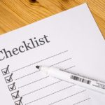 a checklist, will attorney