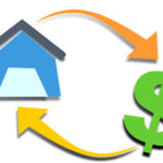 house and money icon, real estate lawyer