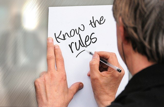 "writing ""know the rules"""