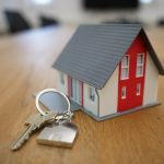A house model and key